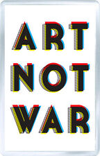ART NOT WAR FRIDGE MAGNET GIFT IMAN NEVERA REGALO