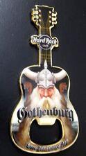 Hard Rock Cafe GOTHENBURG PIRATE Bottle Opener Guitar Magnet. BO*