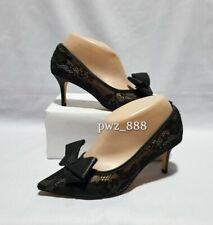 JIMMY CHOO Lace Black Heels Pumps Shoes Size 6