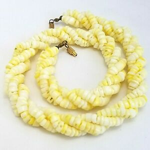 Vintage Costume Jewellery Coral Bayedere Necklace