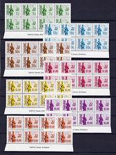 Zimbabwe 2000 Postage Dues imprint blocks, MNH (sheet margin)