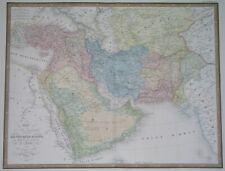 1850 Giga Original Map Armenia Georgia Arabia Qatar Kuwait Israel Persia Turkey