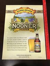 Sierra Nevada Beer (Nooner) Pilsner Beer Poster