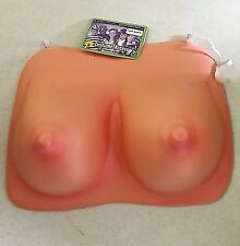 FOAM BOSOM HALLOWEEN ACCESSORY FAKE BREASTS MEN'S COMICAL SEXY WOMAN LOOK NEW