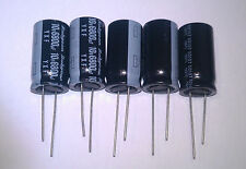 5pcs  6800uF 10V Rubycon YXF, long life 8000h Aluminum Capacitor 105°C