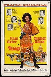 FRIDAY FOSTER 1976 Movie Poster 27x41 • #PamGrier #Blaxploitation #MoviePoster