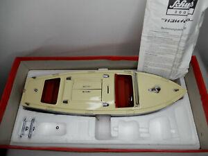 Schuco Nautico 3001 Schiff  Sammlermodell mit Federwerkantrieb  (#217F)
