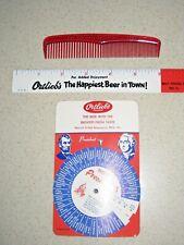 Ortlieb Beer Comb, Ruler & Presidents Knowledge Wheel - 60's