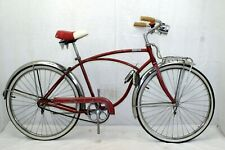 "Schwinn Super Corvette Vintage Cruiser Bike 18"" Large Chicago Made Steel Charity"