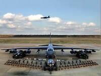 MILITARY AIR PLANE BOMBER JET B52 Stratofortress WEAPON POSTER ART PRINT BB946B