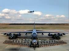 Aereo Militare piano Bomber Jet B52 Stratofortress ARMA poster art print bb946b