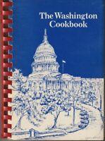 The Washington Cookbook Vintage 1982 Kennedy Center Washington Opera