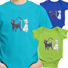Toddler Kids Tee Youth T-Shirt Infant Baby Bodysuit Print Sailor Moon Luna Cat