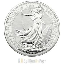 More details for 2021 britannia one ounce silver coin