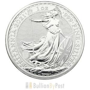 2021 Britannia One Ounce Silver Coin