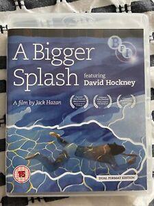 A Bigger Splash: David Hockney | Blu-ray and DVD Combo | 2-Disc Set)