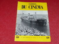[REVUE LES CAHIERS DU CINEMA] N°120 # JUIN 1961 JEAN ROUCH GODARD EO 1rst Print