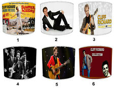 Cliff Richard Lampshades, Ideal To Match Cliff Richard Wall Decals & Stickers.