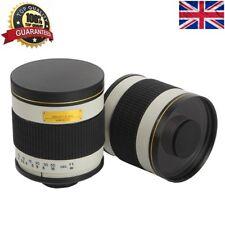 JINTU 500mm F/6.3 Telephoto Manual Mirror Lens + T2 Adapter for Nikon SLR Camera