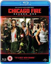 Chicago Fire Complete Series 1 Blu Ray All Episode First Season Original UK Rel