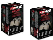 Stoptech Honda S2000 2000-2009 High Performance Sport Front and Rear Brake Pads