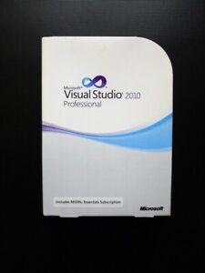 Microsoft Visual Studio 2010 Professional Genuine Boxed DVD UK Retail C5E-00521