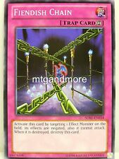 YU-GI-OH - 1x Fiendish Chain-SDBE-SAGA OF BLUE EYES WHITE DRAGON