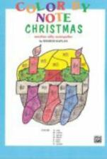 Alfred 00-EL03783 Color by Note Christmas - Music Book