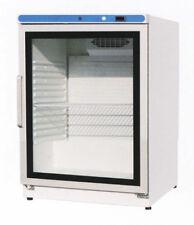 Gastro Kühlschrank 190 mit Glastür Umluftkühlung