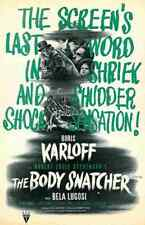 Body Snatcher The 06 Film A3 Box Canvas