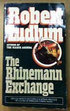 The Rhinemann Exchange by Robert Ludlum (1989, Paperback)