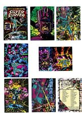 1992 COMIC IMAGES MARVEL SILVER SURFER ALL-PRISM CARDS U-PICK 2 FOR $1.95 NM/M