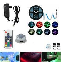 LED Wireless PIR Motion Sensor Wardrobe Cabinet 5050 RGB LED Strip Night Light