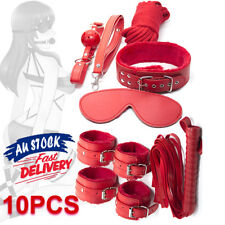 BDSM Set Wrist Bed Cuffs Ankle Restraint Handcuffs Under Bondage Toy