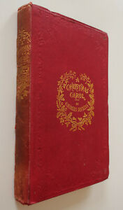 A Christmas Carol,Charles Dickens 1845, First Form; V.Early Edition Chapman&Hall