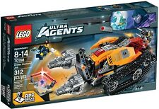 Brand New LEGO Ultra Agents 70168 Drilled Diamond Job