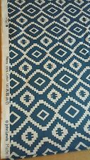 *Luxury Made to Measure Roman Blind in blue and white Nazca John Lewis fabric*
