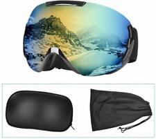 Ski Goggles Snowboarding Gear Anti Fog Dual Lens 100% UV Protection Shatterproof
