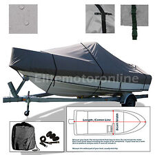 Hydra-Sports 2300 DC Trailerable Fishing boat Cover Grey