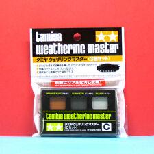 Tamiya #87085 Weathering Master Set C (Orange Rust / Gun Metal / Silver)