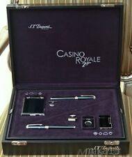 ST DUPONT 2006 JAMES BOND 007 CASINO ROYALE 6 PIECE COLLECTOR SET WITH CUFFLINKS