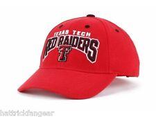 new arrival afc02 d318a Texas Tech Red Raiders Top of the World NCAA Dedication Team Logo Cap Hat  OSFM