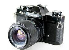 FUJICA Black AZ-1 35mm SLR Film Camera & 43-75mm Zoom Lens