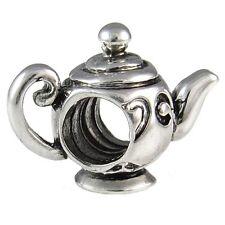 Wholesale 20pcs Teapot Silver European Bracelet Spacer Charm Beads D655