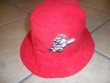 Youth CINCINNATI REDS BEACH HAT Baseball Bucket Floppy Fishing MR. RED cap KIDS