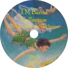 J. M. Barrie Childrens Audio Book Collection Unabridged on 1 MP3 DVD Peter Pan