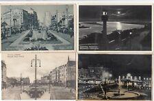 Belgrade Beograd Lot 4 cartes postales vieille Serbie Srbija 1802108