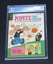 Popeye The Sailor #70 PGX 8.5 Gold Key Comics 1963 Rare