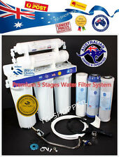 Deluxe 5 Stages Drinking Water Filter, Kitchen Under Sink Purifier + Fittings