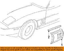 Chevrolet GM OEM 84-87 Corvette-Front Fender Quarter Panel Right 14030218